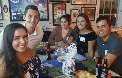 Alumni at Huntington Beach Gathering