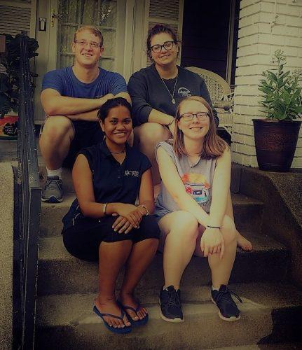 Charlene Mae Rocimo and friends