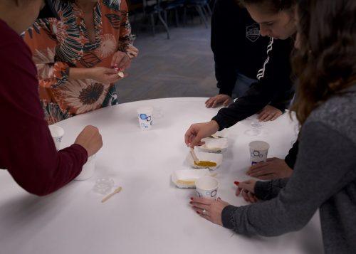 STEM Students learning about Hawaiian Sea Salt