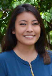 Samantha Kawamoto, Chaminade University Admissions Counselor for Online and Graduate programs