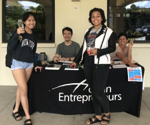 Hogan students encouraged their peers to register to vote