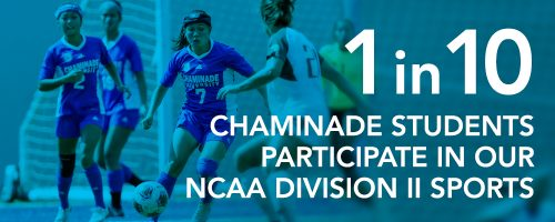 1 in 10 Chaminade students participate in our NCAA Division II sports
