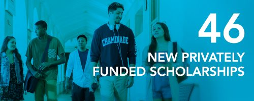 46 new privately funded scholarships