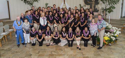 Hogan Entrepreneurial Program graduation and induction 2019
