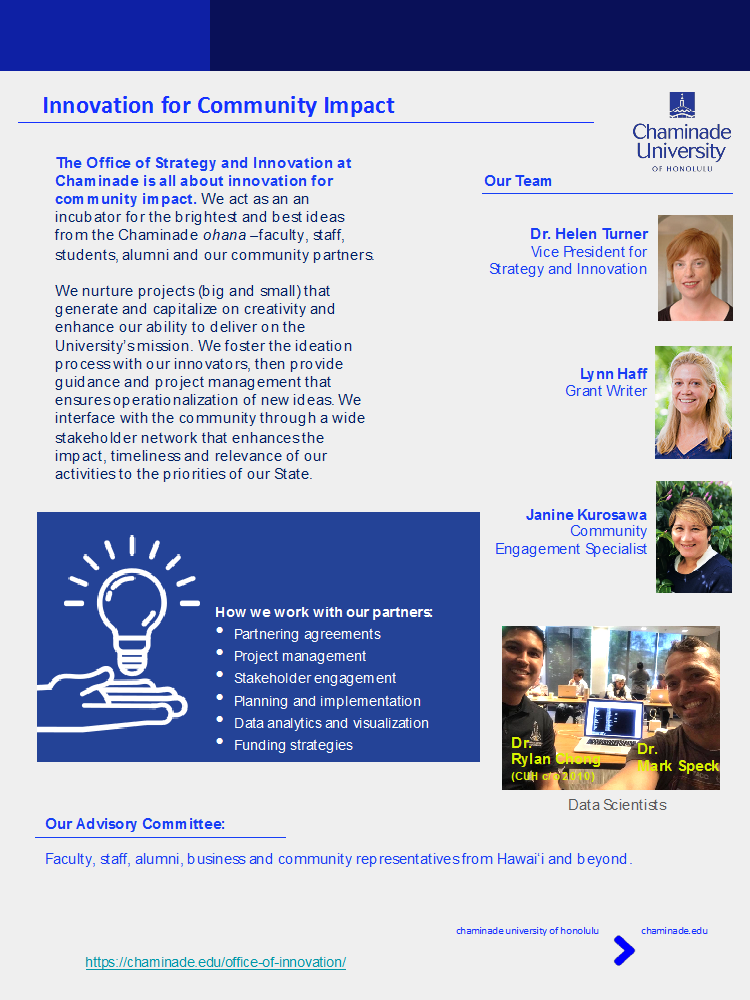 Innovation highlights flyer