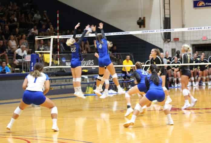 Women's volleyball vs West Virigina