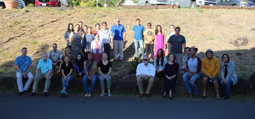 PsyD program faculty, staff and students gather to plant a kuikui tree