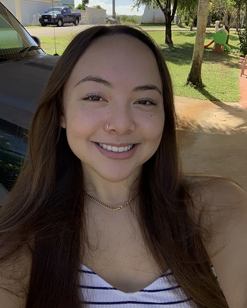 Chaminade Scholar recipient Jacquie Martinez