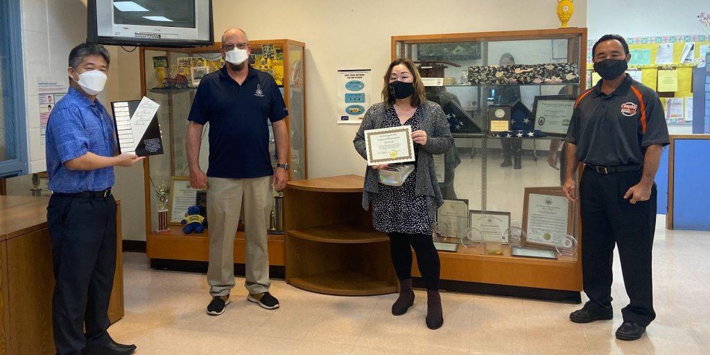 Joyce Yang Receives Kathy Kawaguchi Award