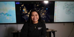 Dairian Balai '22, Data Science major