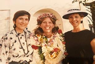 Kristine Stebbins '87 with Dr. Mary Jude Yablonsky