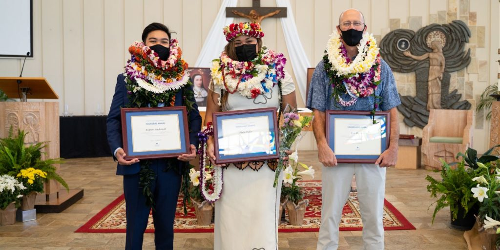 Heritage Awardees Honored During Founders' Mass