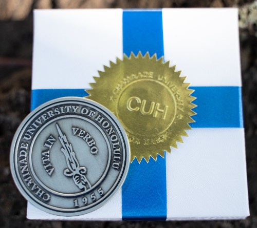 Doctor of Education commemorative pin