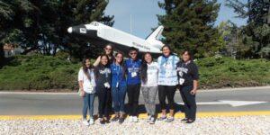 elementary educators on a field trip to NASA