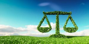 environmental law green scales of justice