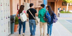 secondary education students