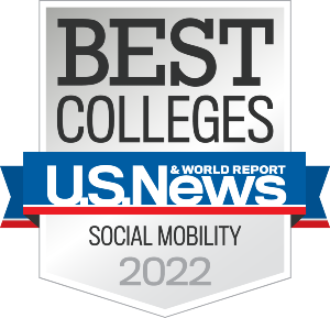 Chaminade University Social Mobility (U.S. News & World Report, 2022)